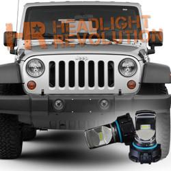 Jeep LED Fog lights