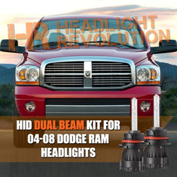 2004 - 2008 Dodge Ram HID Conversion Kit + CANBUS Integration