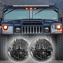 1992 - 2004 Hummer H1 LED Headlight Kit - Truck-Lite 27270C