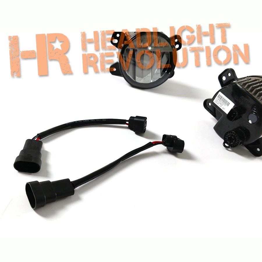Headlight Revolution 9005 Male To 2504 Female Adapter Wire Harnesses 4 Prong Harness Nissan Frontier