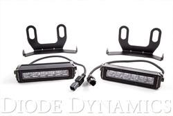 Diode Dynamics 2013+ Ram Standard White Wide LED Driving Light Kit