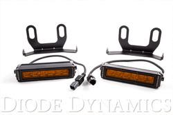 Diode Dynamics 2013+ Ram Standard Amber Wide LED Driving Light Kit