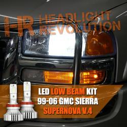 GMC LED Headlight Upgrades