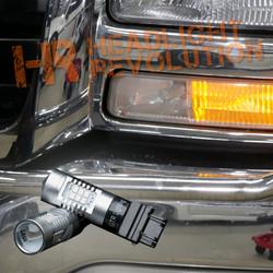 1999 - 2006 GMC Sierra DRL LED Bulbs Upgrade, Carbide Series