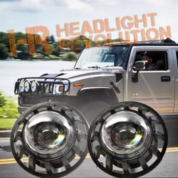 Morimoto 2002-2009 Hummer H2 Super7 Bi-LED Headlight Kit