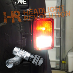 2007 - 2017 JEEP JK REVERSE LIGHT LED UPGRADE KIT