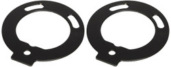 Replacement Sierra Mounting Brackets for Vision X Round Utility Market Xtreme LED Fog Light Upgrade Kit
