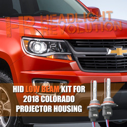 2015 - 2018 Chevy Colorado Low Beam HID Headlight Conversion Kit