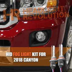 2015 - 2018 GMC Canyon / Canyon Denali HID Fog Light Conversion Kit
