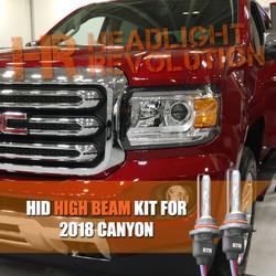 2015 - 2018 GMC Canyon / Canyon Denali High Beam HID Headlight Conversion Kit