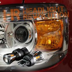 2015 - 2018 GMC Canyon / Canyon Denali LED Front Turn Signals Upgrade Kit
