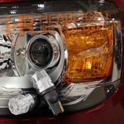 2015 - 2018 GMC Canyon / Canyon Denali LED Front Marker Lights Upgrade Kit