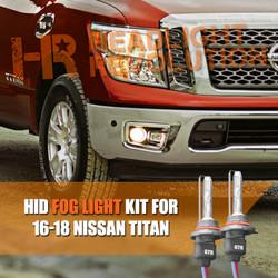 2016 - 2018 Nissan Titan Fog Lights HID Conversion Kit
