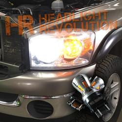 2006 - 2008 Ram LED Front Turn Signals Upgrade Kit