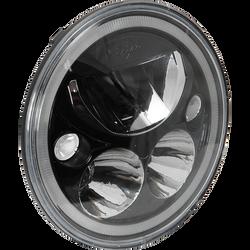 Vision X 5.75″ XMC MOTORCYCLE LED HEADLIGHT (Black) W/ LOW-HIGH-HALO