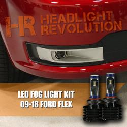 2009 - 2018 Ford Flex Fog Light LED Bulb Upgrade Kit