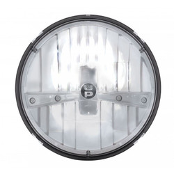 """United Pacific 31391 7"""" Round Chrome LED Reflector Headlight"""