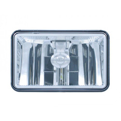 """United Pacific 31397 4x6"""" LED High Beam Reflector Style Headlight"""