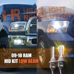 Dodge Ram HID Headlights