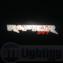 GTR Lighting LED Logo Projectors, Ford Raptor Logo, #47
