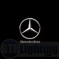 GTR Lighting LED Logo Projectors, Mercedes Benz Logo, #14