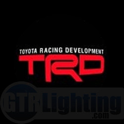 GTR Lighting LED Logo Projectors, TRD Logo, #58