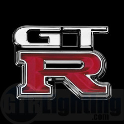 GTR Lighting LED Logo Projectors, Nissan GTR Logo, #60