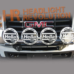 N-FAB 07-10 GMC 2500HD/3500HD No Drill Front Light Mount