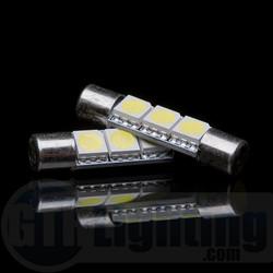 """GTR Lighting 29MM """"Vanity"""" Festoon 3-LED Bulbs"""