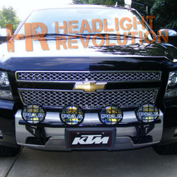 N-FAB 06-13 Chevy Tahoe/Suburban/Avalanche Front Light Mount