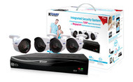 KGUARD Easy Link Plus EL431- 4-Channel 720P Recorder with 4 cameras, 1TB HDD