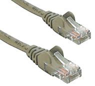 RJ45M - RJ45M Cat5E Network Cable 1m-Grey