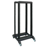 LinkBasic 37U Open Rack 600mm x 600mm x 1666mm Flat Pack