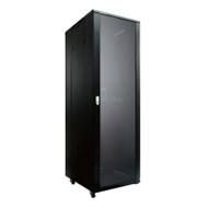 LinkBasic 42RU 600mm Depth Server Rack Smoke Glass Door with 2x240v Fans and 8-Port 10A PDU