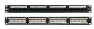 LinkBasic 24 Port Cat6A UTP Patch Panel Rack Mount