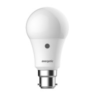 Energetic A60 B22 6.5W (470lm) Sensor Bulb Warm White