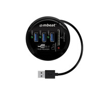 mbeat Portable USB 3.0 Hub and Card Reader