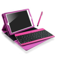 mbeat® iPad Mini Bluetooth Keyboard and Folio Kit - Pink