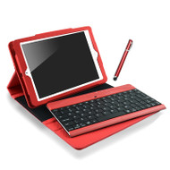 mbeat® iPad Mini Bluetooth Keyboard and Folio Kit - Red
