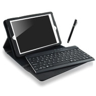mbeat® iPad mini Bluetooth Keyboard Black Folio Case with Stylus