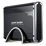 "Welland Speed Master ME-700E 3.5"" IDE + SATAIII to USB3.0 Enclosure - Black Aluminium"