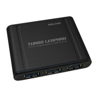 Welland Turbo Leopard UH-304 4-Port USB 3.0 Hub - Power Adapter included