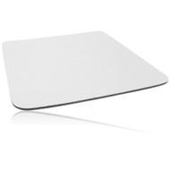 Single Colour Cloth Mouse Pad 260 X 220 X 5mm - White