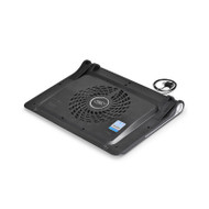 "Deepcool N180 FS Notebook Cooler (Up To 17""), 2 Viewing Angles, 180mm Fan, USB Pass-through"
