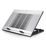 "Deepcool N9 Notebook Cooler (Up To 17""), Angle Adjustable, Antislip, Aluminium, 18cm Fan, 3x USB"