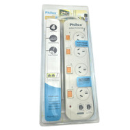 4-Way Power Board (421SW) with Individual Switches and Surge Protection