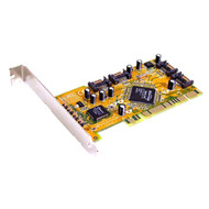 Sunix SATA4000 PCI SATA 1.0 Card - 4 Internal Ports