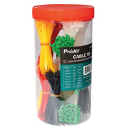Pro'sKit 1200PCE ASSORTED CABLE TIES