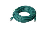 Cat 6a UTP Ethernet Cable, Snagless  - 10m Green