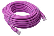 Cat 6a UTP Ethernet Cable, Snagless  - 10m Purple
